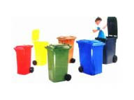 360 litres wheeled trash containers