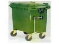 800 litres wheeled trash containers