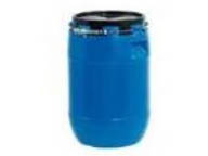 60 litres drum for dangerous goods transport (plastic)