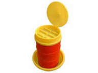 Funnel container with cover